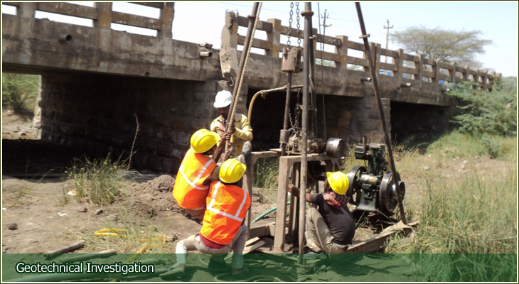 Pnt designs pvt ltd soil investigation core drilling for Soil investigation