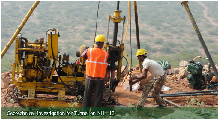 Pnt designs pvt ltd soil investigation core drilling for Soil exploration